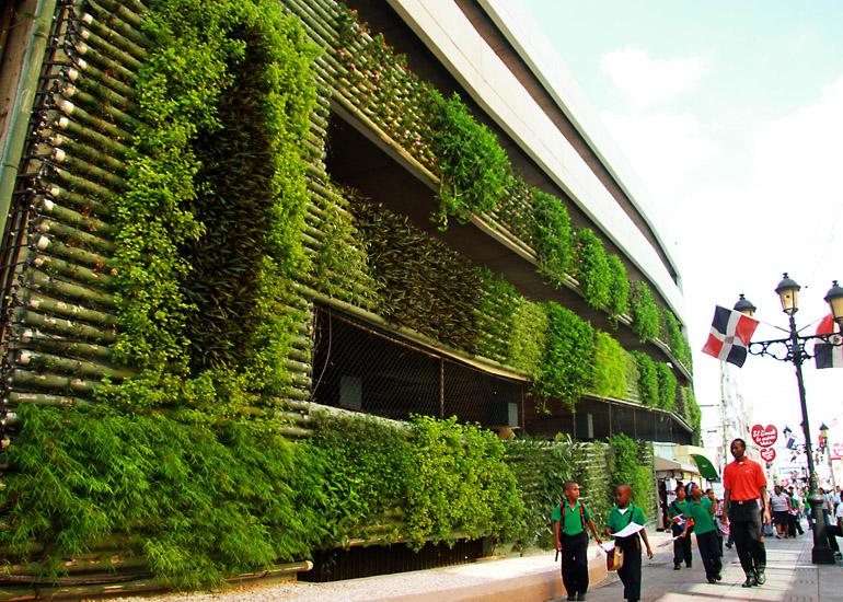 Las dalias - Estructura jardin vertical ...